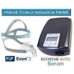 Pachet EcoStar™ Auto |Aparat AutoCPAP + Masca nazala Breeze Comfort Sefam