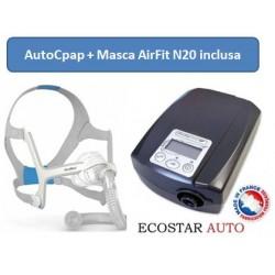 Super Buy: Pachet EcoStar™ Sefam Auto Aparat AutoCPAP + Masca nazala Premium Resmed AirFit N20
