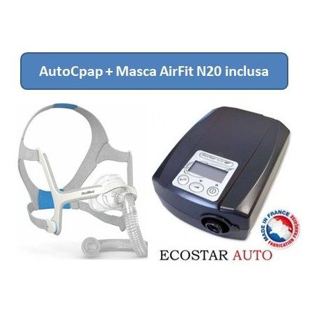 Pachet EcoStar™ Auto  Aparat AutoCPAP + Masca nazala Breeze Comfort Sefam